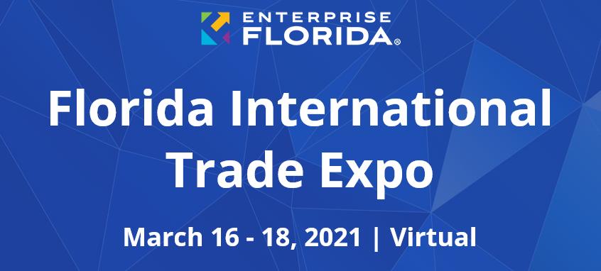 Voor bedrijven die willen gaan exporteren naar de VS organiseren wij de virtuele Florida International Trade Expo 2021