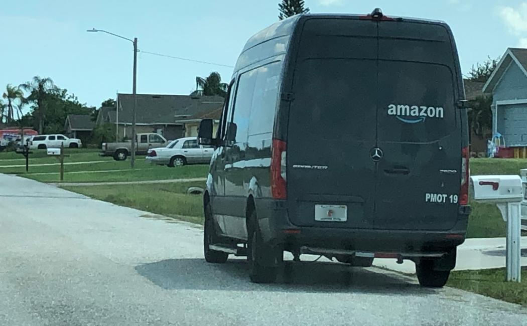 Amazon Prime USA Mercedes-Benz eSprinter