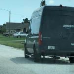 Weet jij hoe hoog zo'n Amazon bus is Erik?